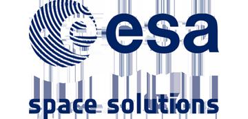 Het logo van ESA. Eén van de vele klanten van Euro Drone Inspections.