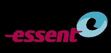 Het logo van Essent. Eén van de vele klanten van Euro Drone Inspections.