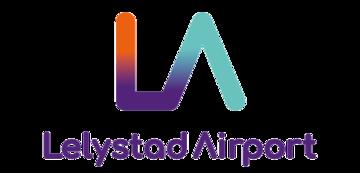 Het logo van Lelystad airport. Eén van de vele klanten van Euro Drone Inspections.