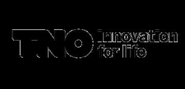 Het TNO logo. Eén van de vele klanten van Euro Drone Inspections.