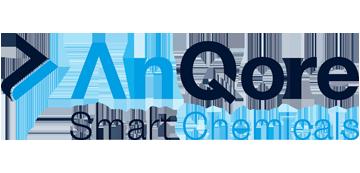 Het logo van AnQore Smart Chemicals. Eén van de vele klanten van Euro Drone Inspections.