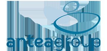 Het logo van Anteagroup. Eén van de vele klanten van Euro Drone Inspections.