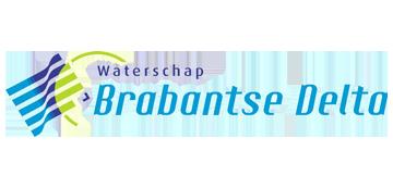 Het logo van Brabantse Delta. Eén van de vele klanten van Euro Drone Inspections.