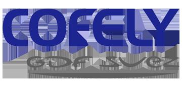 Het logo van Cofely. Eén van de vele klanten van Euro Drone Inspections.