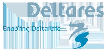 Het logo van Deltares. Eén van de vele klanten van Euro Drone Inspections.