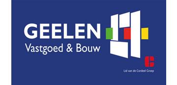 Het logo van Geelen Vastgoed en Bouw. Eén van de vele klanten van Euro Drone Inspections.