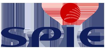 Het logo van Spie. Eén van de vele klanten van Euro Drone Inspections.